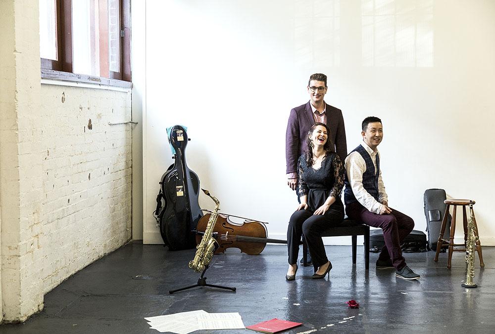 Collide Ensemble, photo by Pia Johnson