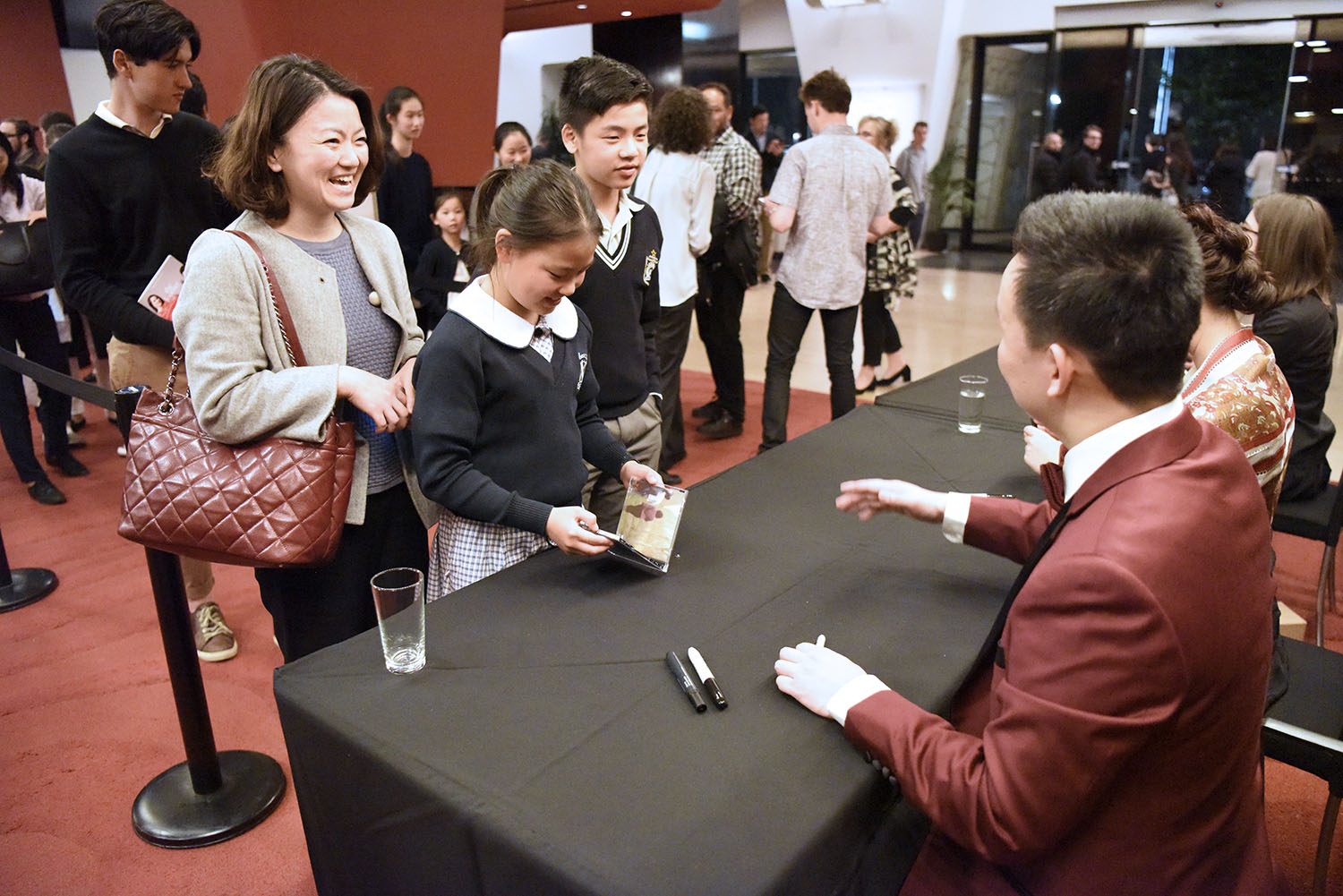 2018 Melbourne Recital Centre Y-Squared CD Signing