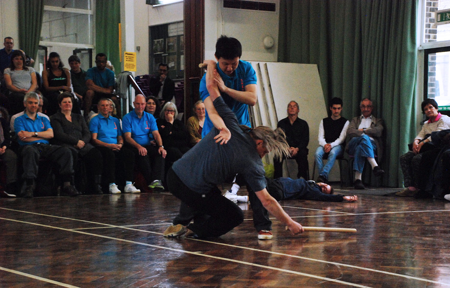 London 2015 25th Anniversary Demo Tse Qigong Centre Yelian He